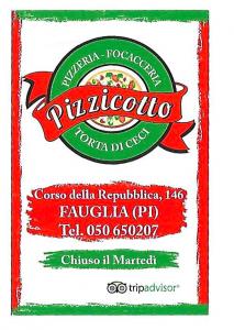 logo pizzeria pizzicotto fauglia (pisa) con simbolo tripadvisor